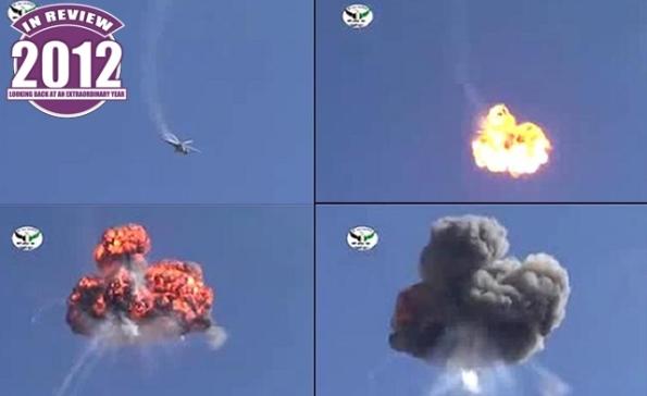 Jet pejuang MIG atau helikopter telah di tembak jatuh, keseluruhannya 108 unit