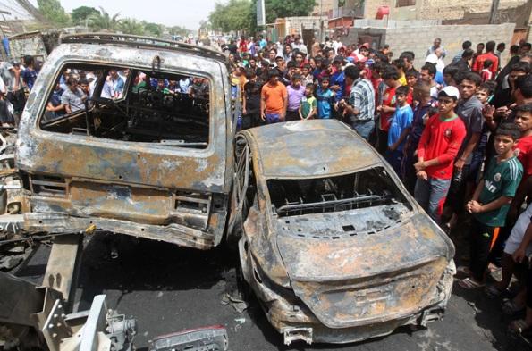 MAsjid Syiah di bomb oleh golongan sunni yg kekampungan dan otak kampung