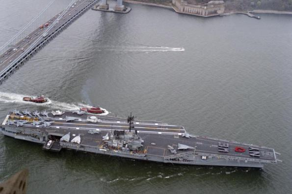USS-Forrestal-Navys-first-supercarrier-sold-for-one-cent