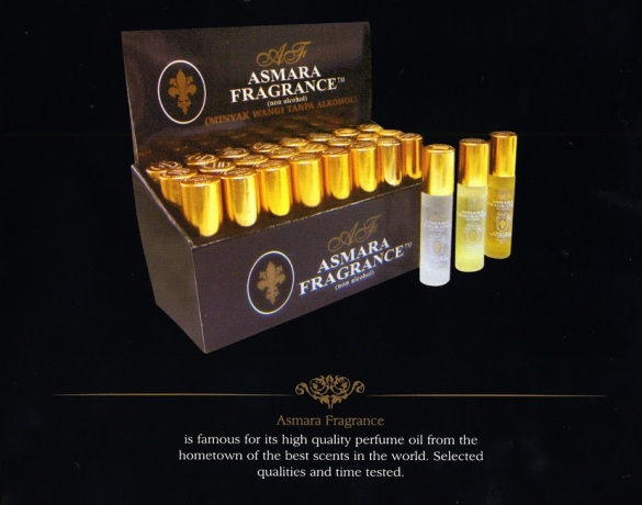 Asmara Fragrance logo