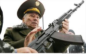 Kalashnikov  Pencipta Ak47 yang tersohor