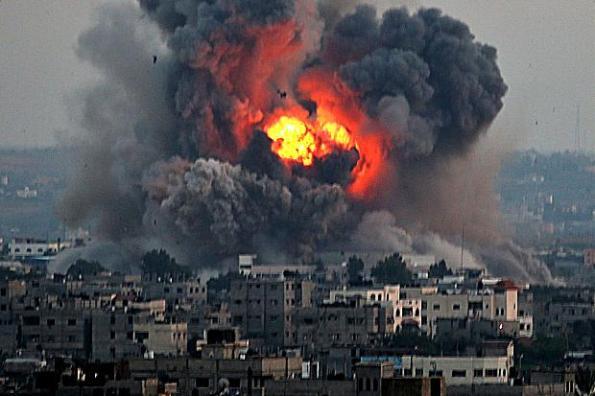 Israel melakukan kerosakkan