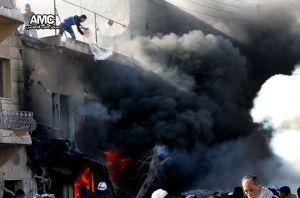 Barell bom yang memusnahkan ribuan rumah dan nyawa penduduk Sunni Syria