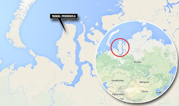 Yamal Rusia, tempat paling sejuk dan tiada berpenghuni, klik utk besar