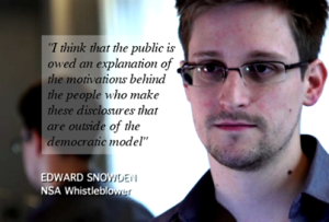 Edward Snowden,  Bekas Pegawai AS Agensi Keselamatan NSA
