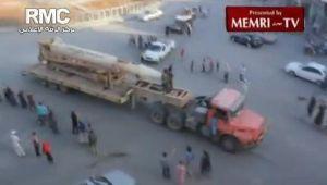 Scud yang dirampas dari tentera Syria, Syria mempunyai 5 versi Scud jarak jauh, (Scud-B, Scud-C, Scud-D, Hwasong-6, Hwasong-7)
