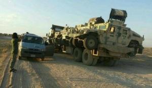 Humvee yang di rampas, menjadi asset ISIS