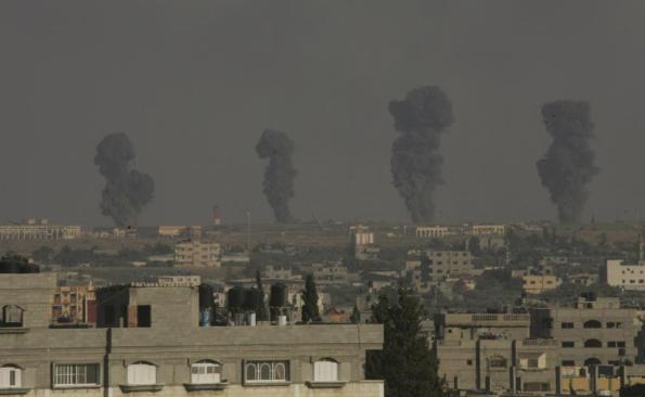 Israel memulakan serangan pada 8 Julai Menurut tentera Israel, hampir 4,762 sasaran terkena di Gaza.