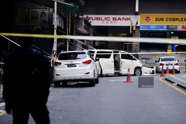 letupan bom di koompleks sun  bukitbintang ,  image malaysia insider
