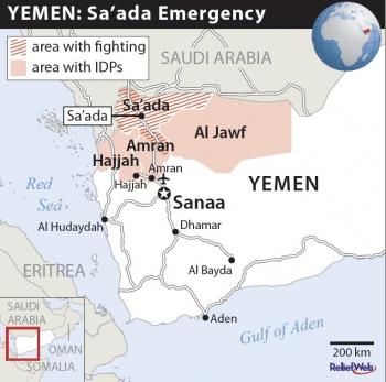 مسرح حرب صعدة