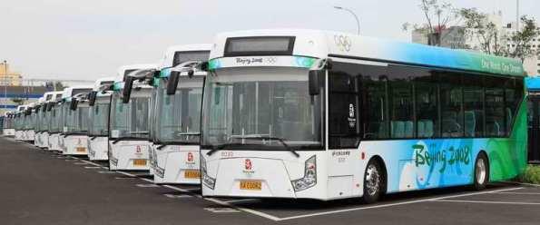 China telah ke hadapan dengan menggunakan pengankutan di sukan olimpik beijiong 2009