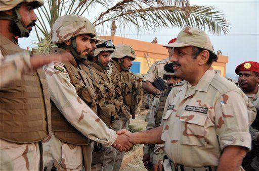 Batalion ke-2 sedang bersedia untuk menyerang Yaman,