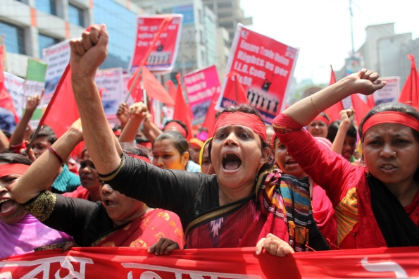 May Day celebrations in Bangladesh
