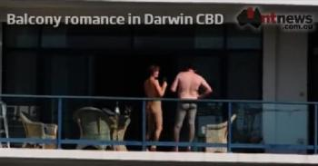 Darwin balcony sex