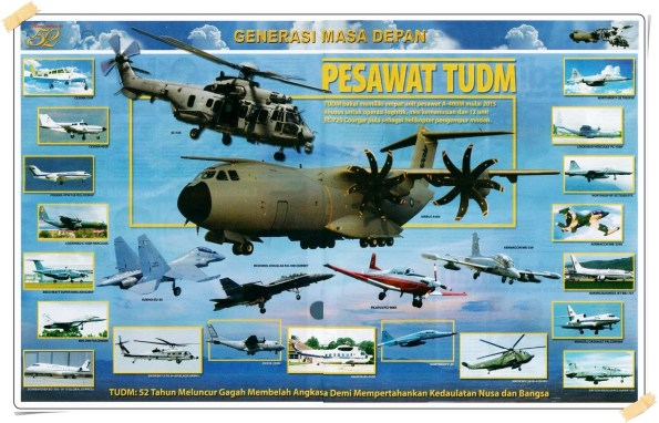 TUDM Aircraft