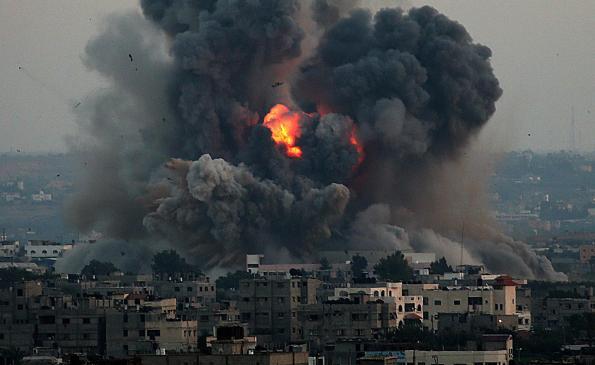Serangan melampau Israel keatas Gaza