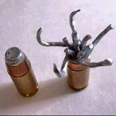 Peluru jenis baru, peluru rama rama, amat menyiksakan jika terkena, New type of dum-dum bullet