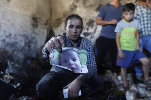 Palestinian baby, Ali Dawabshe, burned to death in settler attack